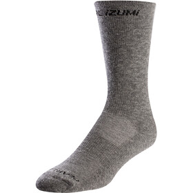 PEARL iZUMi Merino Thermal Wool Socks smoked pearl core